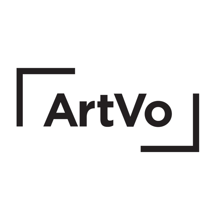 Image shows ArtVo logo