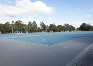 Knox Regional Netball Centre outdoor courts and surrounds