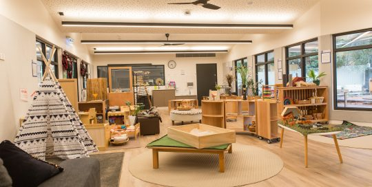 Image showing interior classroom